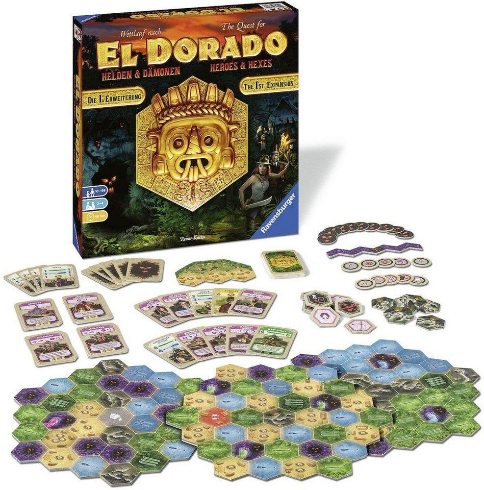 Image of 1. Erweiterung - Wettlauf nach El Dorado - Helden & Dämonen