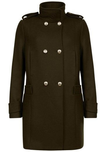 TOMMY HILFIGER Wollmantel »Belle« im Military-Look