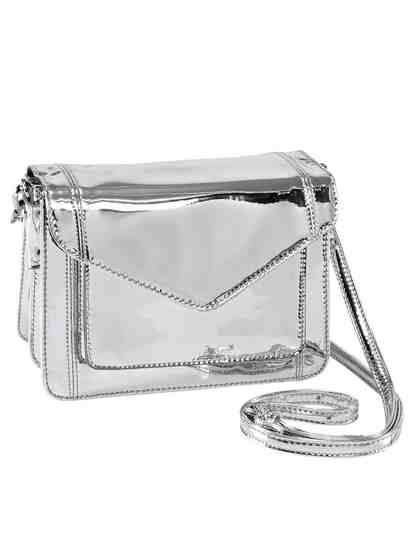 Heine Tasche Metallic-Look
