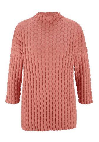 CASUAL пуловер с Bubblemuster