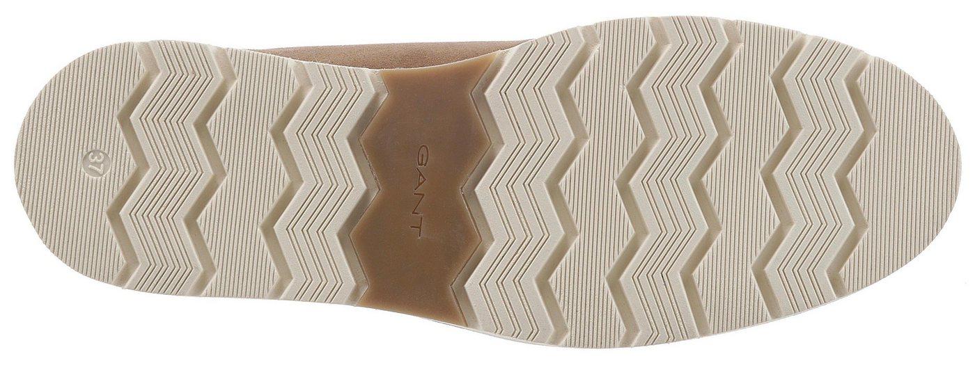 Gant Footwear Schnürboots mit weich abgepolstertem Schaftrand