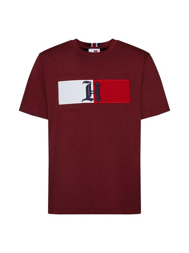 pretty nice 9a15e 6e675 TOMMY HILFIGER Print-Shirt »LEWIS HAMILTON« kaufen | OTTO