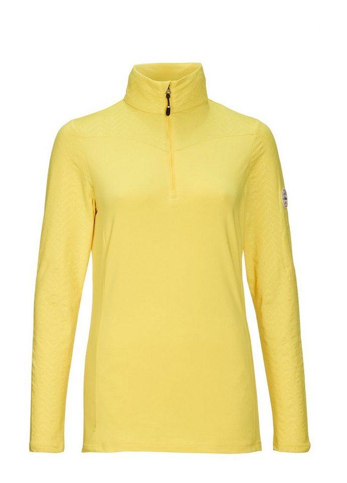 Killtec Fleeceshirt »Tinala« | Bekleidung > Sweatshirts & -jacken > Fleeceshirts | Gelb | Killtec