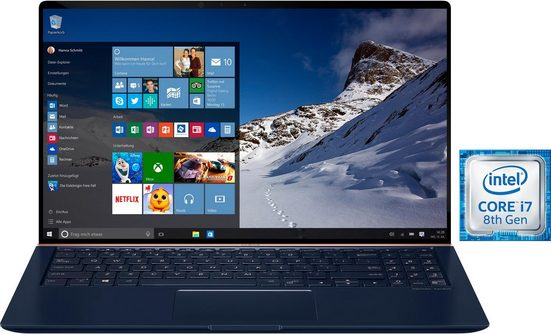 Asus UX533FD-A9082T Notebook (39,6 cm/15,6 Zoll, Intel Core i7, GeForce, 256 GB SSD)