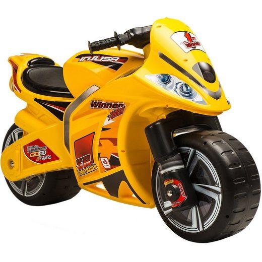 INJUSA Push Motorrad Winner, gelb