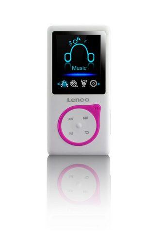 Lenco MP3-Player mit 8 GB microSD-Karte »XEMIO-668«