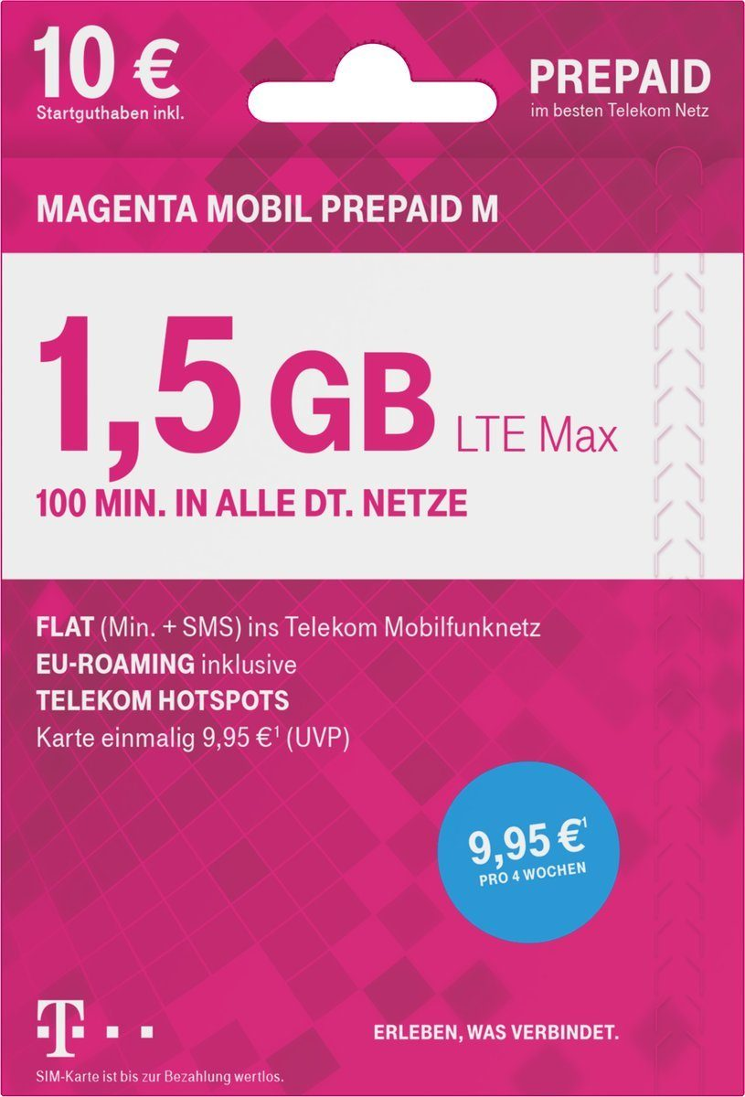 Telekom Prepaid Karte »MOBIL Prepaid M«