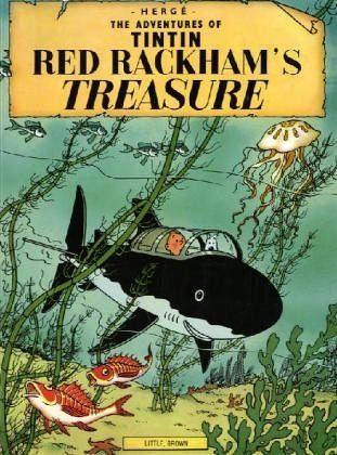 Broschiertes Buch »The Adventures of Tintin. Red Rackham's Treasure«