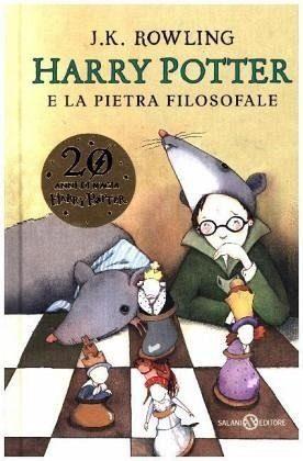 Gebundenes Buch »Harry Potter 1 e la pietra filosofale«