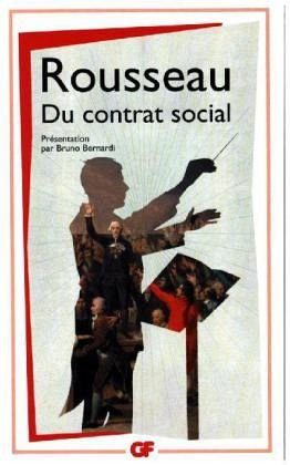 Broschiertes Buch »Du contrat social«