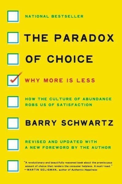 Broschiertes Buch »The Paradox of Choice«