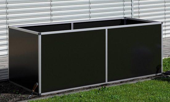KGT Hochbeet Aluminium, BxTxH: 205x91x77 cm