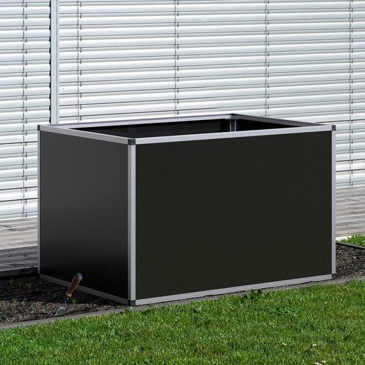 KGT Hochbeet Aluminium, BxTxH: 121x91x77 cm