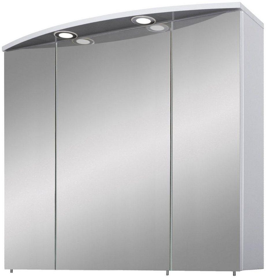 Schildmeyer spiegelschrank verona led breite 80 cm for Schildmeyer spiegelschrank