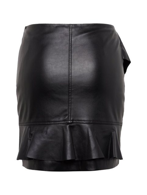 tom tailor contemporary -  A-Linien-Rock »Kurzer Rock in Leder-Optik«