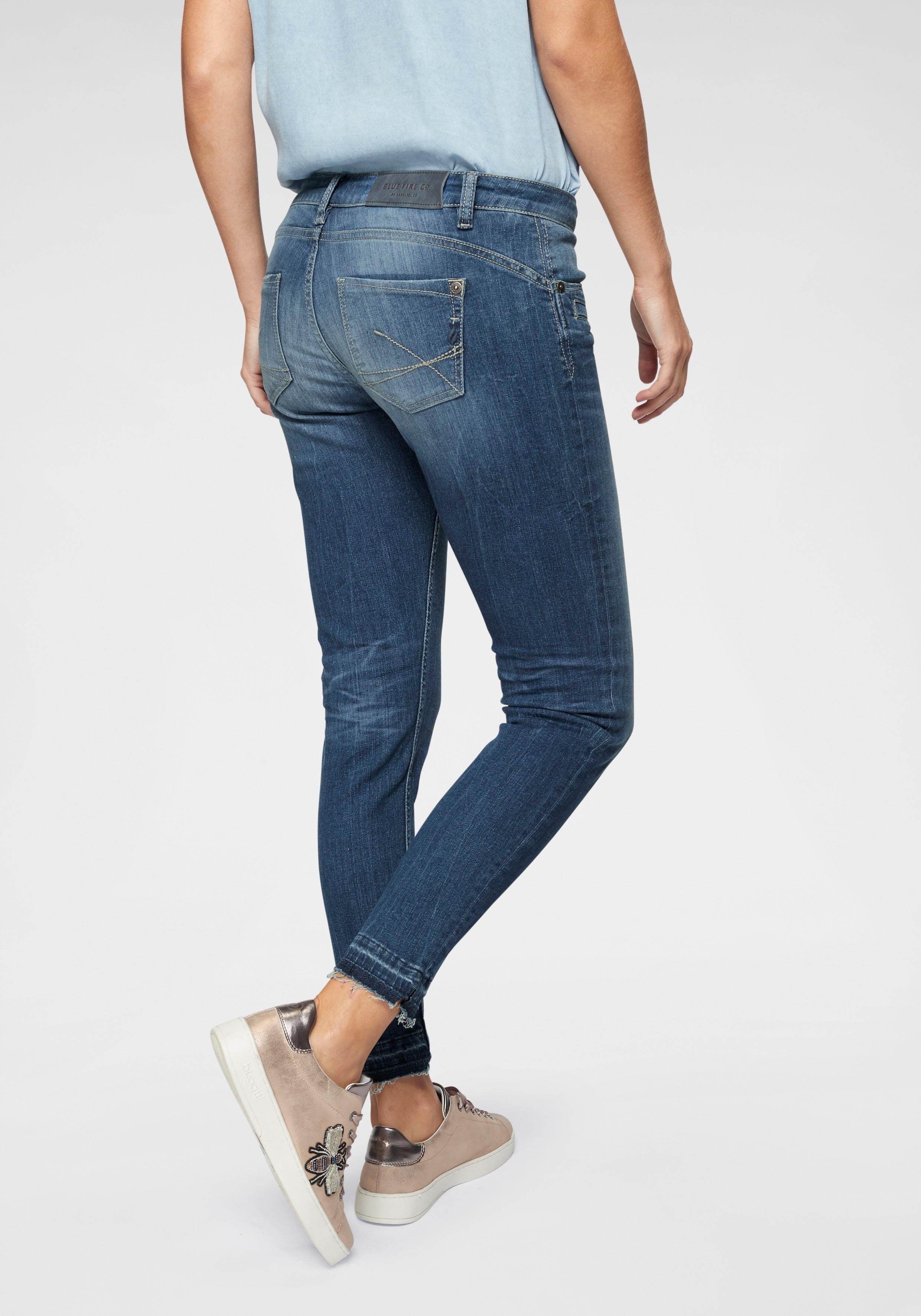 BLUE FIRE Skinny-fit-Jeans »ALICIA« im Used-Look
