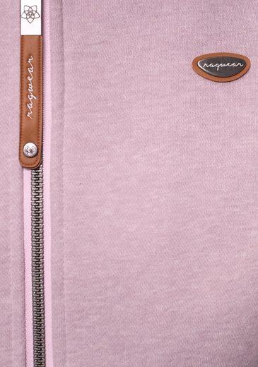 Kapuzensweatjacke Zip Ragwear »neska E« Vegan Hergestellt qP8f4w