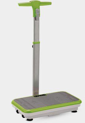 Vibrationsplatte, 200 W, 3 Intensitätsstufen, (Set, mit Trainingsbändern), mit abnehmbarer Haltestange