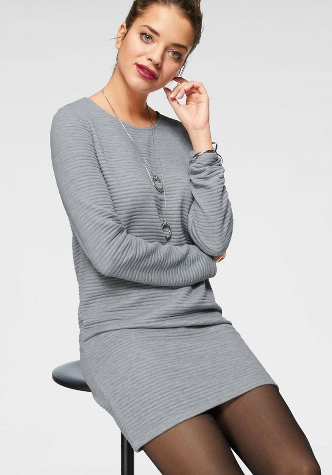 Only Sweatkleid »NAOMI« | Bekleidung > Kleider > Sweatkleider | Grau | Only