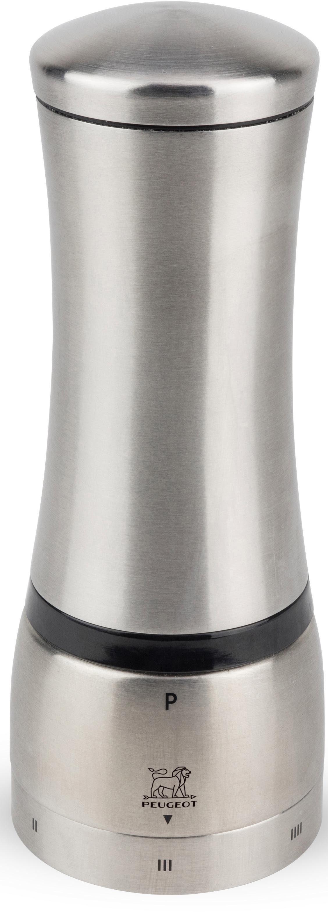 PEUGEOT Pfeffermühle »Mahé« manuell, U'Select«, ohne Mittelachse, 16 cm