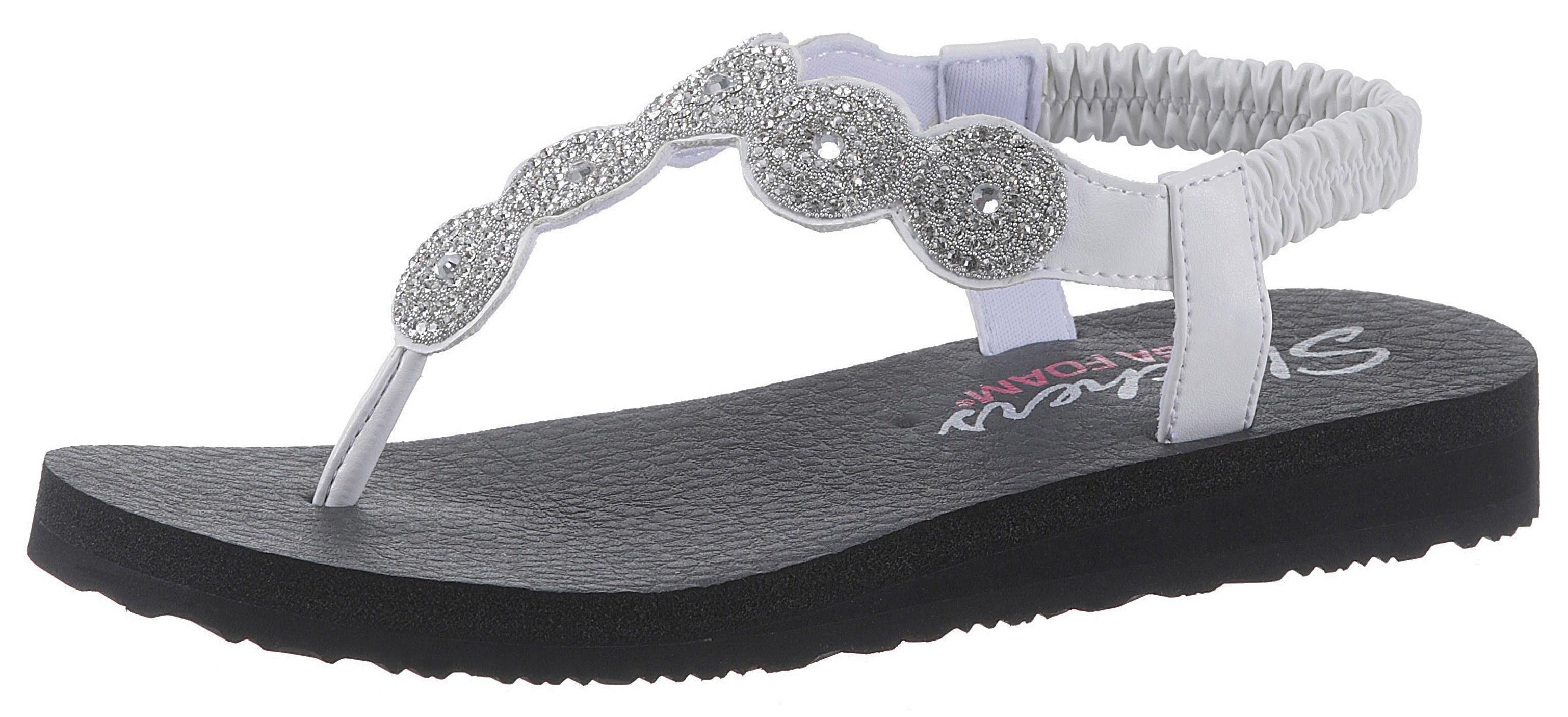 Skechers »Meditation Stars & Sparkle« Sandale mit Dämpfung durch Yoga Foam online kaufen | OTTO