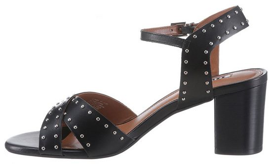 Sandal« Sandalette Studded Dune Heel »joyride Mit London Ziernieten Block qwYrxYEvX