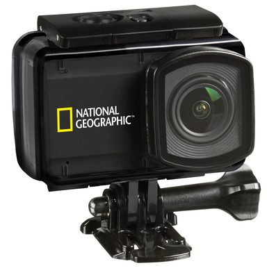 NATIONAL GEOGRAPHIC Action Cam »4K Ultra-HD 30fps WLAN Explorer 4«