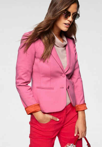 damen blazer rose gr.54 56