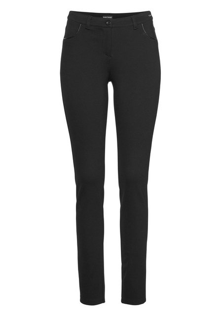 Hosen - Bruno Banani Treggings Slim Fit Hose Power Stretch › schwarz  - Onlineshop OTTO