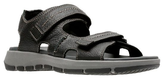 Clarks Sandale mit 2 Klettverschlüssen