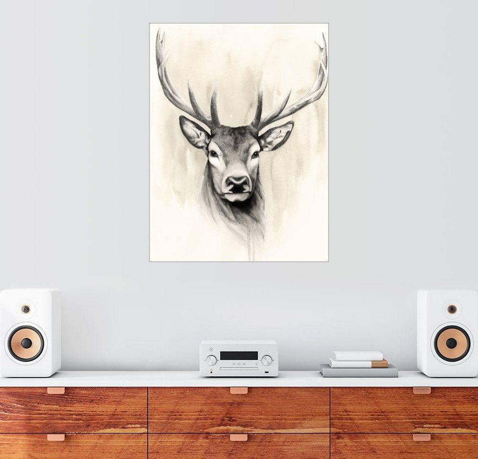 Grace Popp Premium-Poster Waldland Tiere I