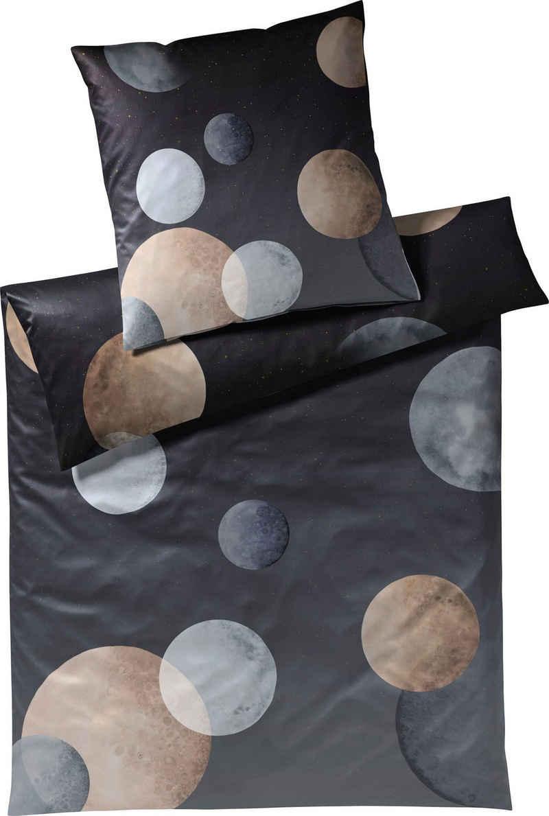 Bettwäsche »Moon«, Elegante, angenehmes Hautgefühl