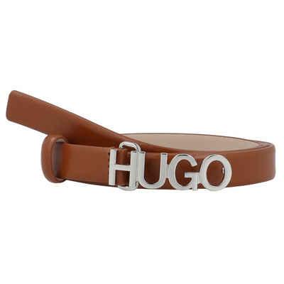 HUGO Ledergürtel »Zula« Koppelverschluss