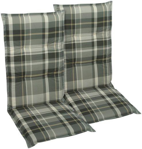 GO-DE Sesselauflage, (Set, 2 St)