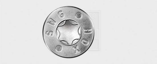 SWG Schraube »HOX«, (Packung), Innenvielzahnschrauben