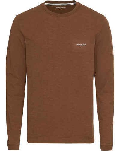 Marc O'Polo Langarmshirt »Langarm-Shirt aus Bio-Baumwolle«