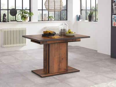 HELA Esstisch »Ariana«, durch innenliegende Einlegeplatten ausziehbar 120 160 cm