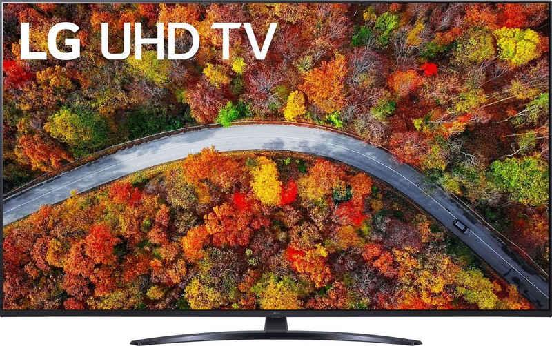 LG 65UP81009LR LCD-LED Fernseher (164 cm/65 Zoll, 4K Ultra HD, Smart-TV, LG Local Contrast, Sprachassistenten, HDR10 Pro, LG ThinQ, inkl. Magic-Remote Fernbedienung)