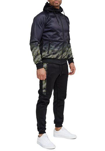 Egomaxx Trainingsanzug »3581«, Herren Slim Fit Trainingsanzug Casual Basic Streetwear Sportanzug