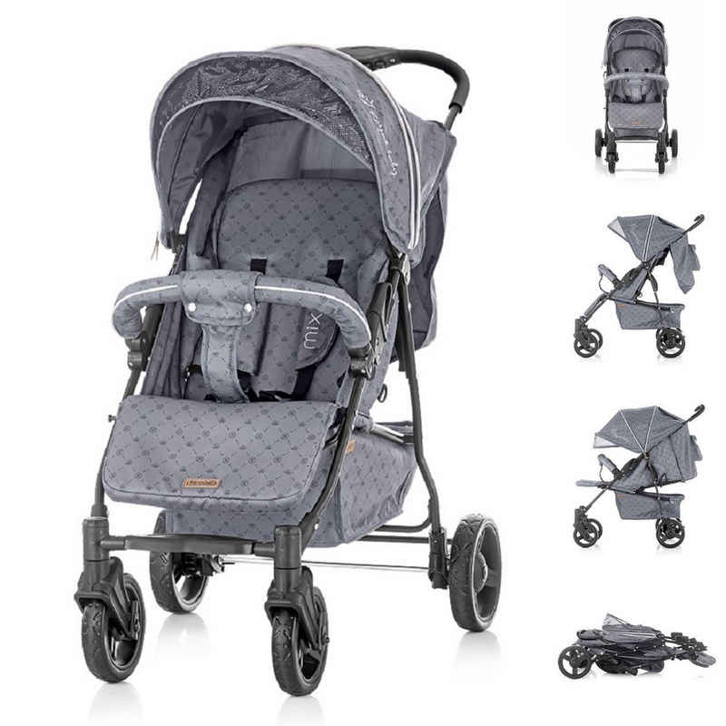 Chipolino Kinder-Buggy »Kinderwagen Buggy Mixie, 22 kg«, bis 22 kg, klappbar, schwenkbare Vorderräder