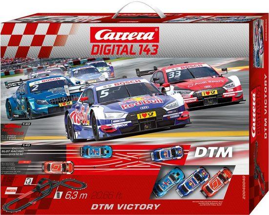 Carrera® Autorennbahn »Carrera® Digital 143 - DTM Victory« (Streckenlänge 6,3 Meter)