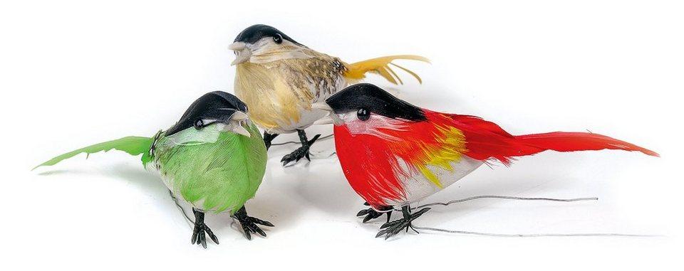 vbs dekofigur »vögel« 3er set online kaufen  otto