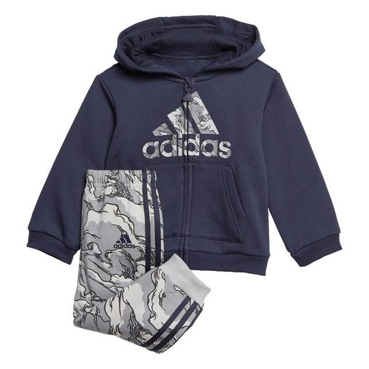 adidas Performance Trainingsanzug »Fleece Hooded Jogginganzug«