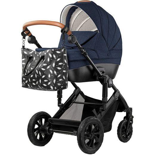 Kinderkraft Kombi-Kinderwagen »Kombi-Kinderwagen PRIME 2in1, blau«