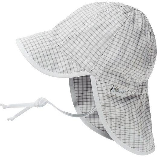 Sterntaler® Schirmmütze »Schirmmuetze mit Nackenschutz - Mützen -«