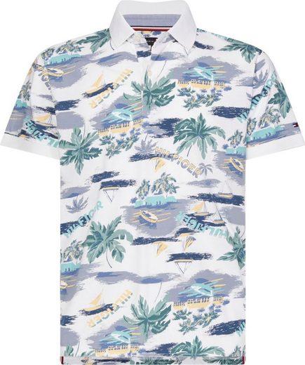 TOMMY HILFIGER Poloshirt »SUMMER PRINT REGULAR POLO«