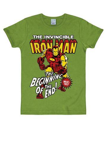 LOGOSHIRT T-Shirt mit Retro-Motiv »Iron Man«