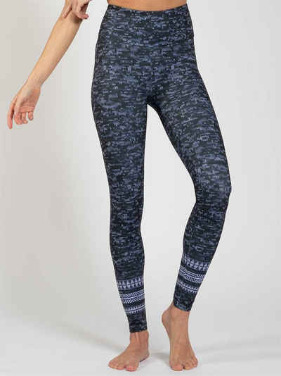 Magadi Leggings »Texture« aus Komfort-Stretch mit Tasche