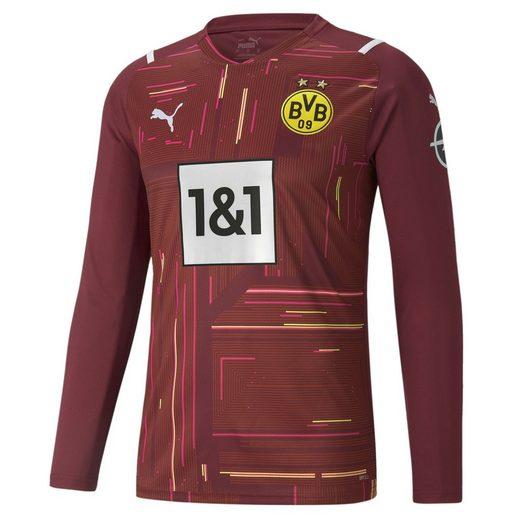 PUMA Fußballtrikot »BVB Replica Herren Langarm-Torwarttrikot«