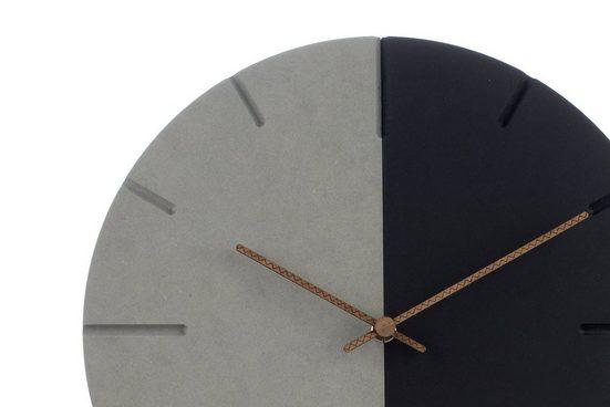 ONZENO Wanduhr »THE YINYANG.« (handgefertigte Design-Uhr)